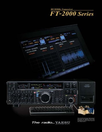 FT-2000 Series - Yaesu.com.hk