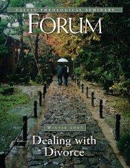 Dealing With - Calvin Theological Seminary (internal ...