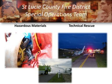 Special Ops - St. Lucie County Fire District