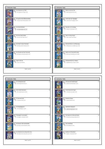 TKKG im PDF-Format - Mazzoni.de