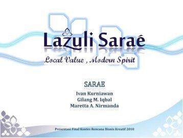 Lazuli Sarae.pdf - Indonesia Kreatif