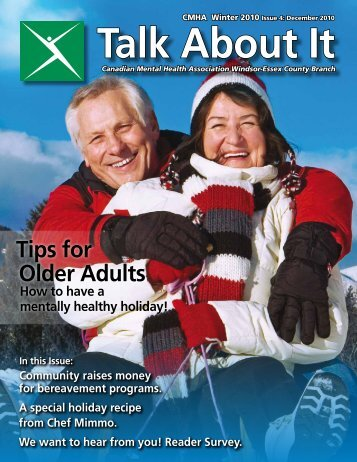 Winter 2010 Issue 4 - Canadian Mental Health Association