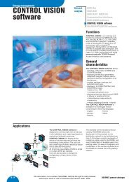 CONTROL VISION software - IPD ...The