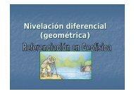 Nivelación diferencial (geométrica)
