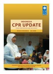 indonesia cpr update - UNDP