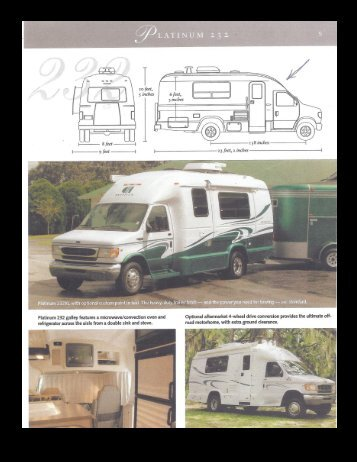 Coach House Platinum 232 Partial Brochure with Floorplans