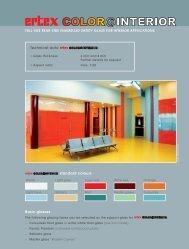 Technical data : standard colours Basic glasses - Ertl Glas