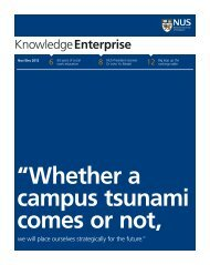 KnowledgeEnterprise - NewsHub - National University of Singapore