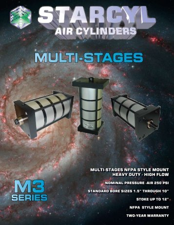 Multistage Pneumatic Cylinders - PDF