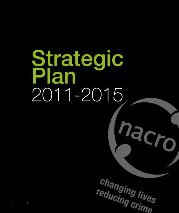 Our Strategic Plan - Nacro