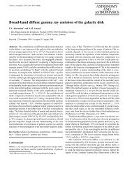 Broad-band diffuse gamma ray emission of the galactic disk