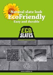 Natural slate look - EcoSlate