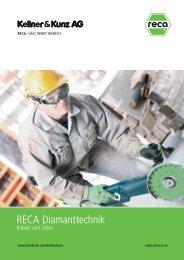 RECA Diamanttechnik - Kellner & Kunz AG