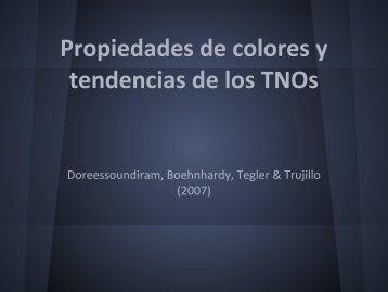 colores - Grupo de Ciencias Planetarias