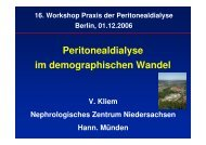 Peritonealdialyse im demographischen Wandel - Pd-berlin.de