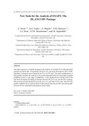 CCLRC Technical Report DL-TR-2005-001, ISSN 1362-0207