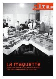 La maquette - Cité de l'architecture & du patrimoine