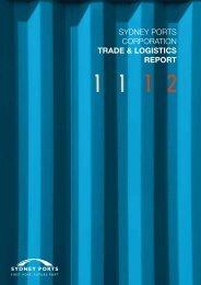 Trade & Logistics Report 2011/12 - Sydney Ports