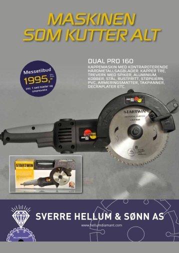 Klikk her for Brosjyre Dual Pro 160 - Sverre Hellum & Sønn AS