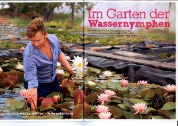 Tina Garten und Leute - Seerosenfarm