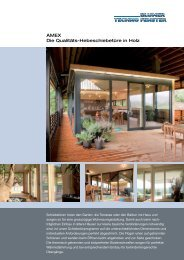 HST Holz AMEX - Blumer Techno Fenster AG