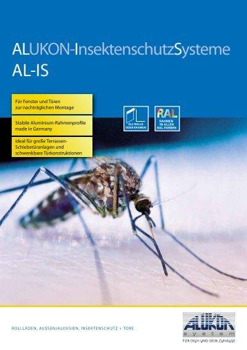 Alukon-Insektenschutzsysteme - Nit.at