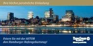 212942 Einladung Hafengeburtstag_RZ.indd - ex2ex GmbH