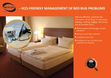 eco-friendly management of bed bug problems - Bed Bug Information