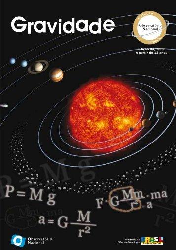 O que é a gravidade? - Observatório Nacional