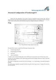 Introdução ao Projeto Aeronáutico - UFSC Aerodesign