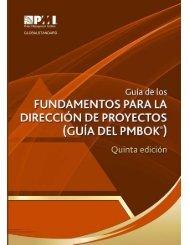 Fundamentos Para La Direccion de Proyectos (PMBOK) Quinta Edición