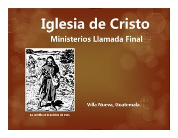 La Auténtica Alabanza - IGLESIA DE CRISTO - Ministerios Llamada ...