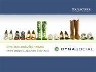 DynaSocial Social Media Analytics - Knime