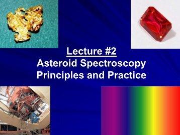Asteroid Spectroscopy