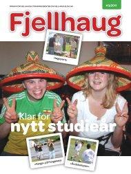 Klar for - Fjellhaug Internasjonale Høgskole
