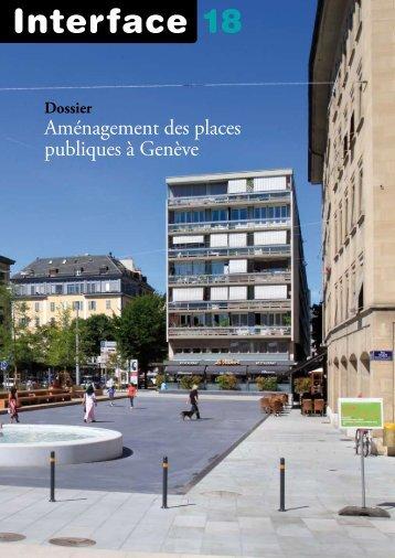 Aménagements des places publiques à Genève - FAI