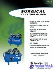 Surgical dry pump