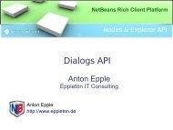 NetBeans Rich Client Platform