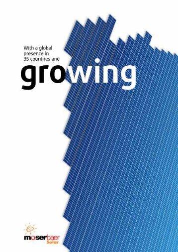 Download - Moser Baer Solar Limited