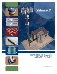 CONTRACTOR CONSUMABLES AND SAFETY PRODUCTS