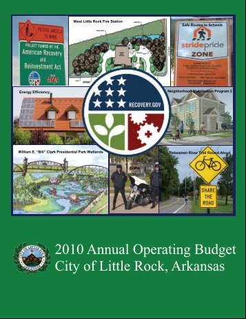 2010 Annual Operating Budget City of Little Rock, Arkansas