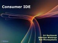 Consumer IDE - NetBeans Wiki