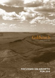 2009 Annual Report - Goldsearch