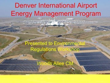Denver International Airport Energy Management Program