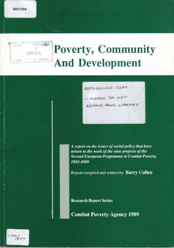 an analysis of the problem of poverty Discussionpoverty is a state in which income is insufficient to provide basic needs such as food, shelter, medical care, and clothing (lauer & lauer, 2011)do you agree with this definitionis this a 'good' working definition for the addressing of poverty as a social problem.
