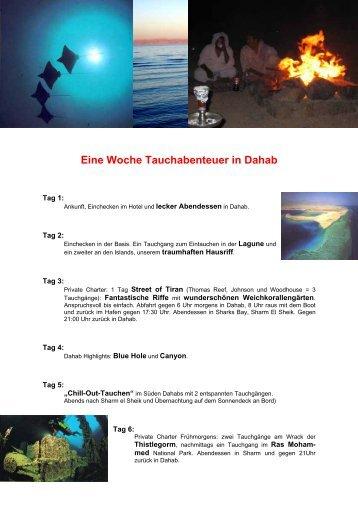 Eine Woche Tauchabenteuer in Dahab - Fun Dive Club