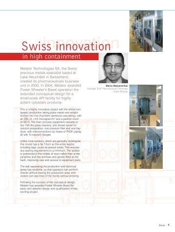 innovation - Foster Wheeler