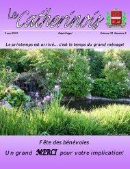 Mai 2013 - Ville de Sainte-Catherine-de-la-Jacques-Cartier