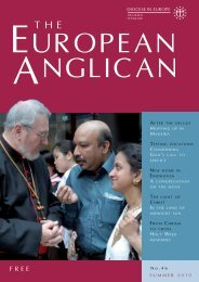 No.46 SummER 2010 - Diocese in Europe