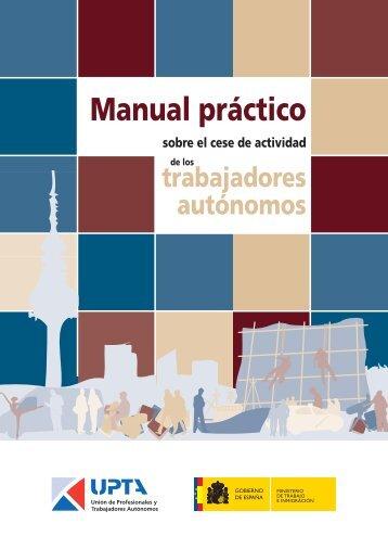 Manual práctico sobre el cese de la actividad de los trabajadores ...